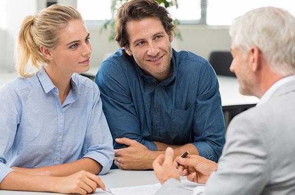 Couple seeking Financial Advisor.
