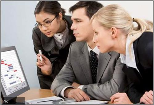 MBA professionals analyzing cost